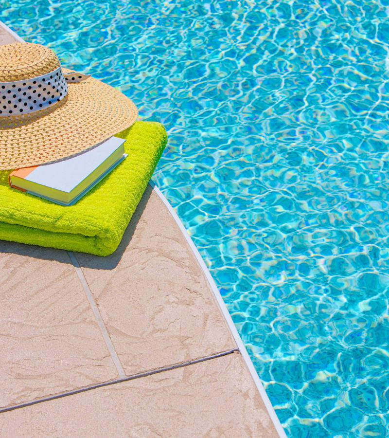 Swimming pool at Avalon Villas