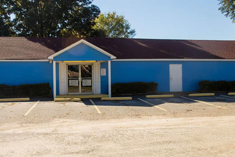 Main entrance to our storage units at StayLock Storage in Hartsville, South Carolina