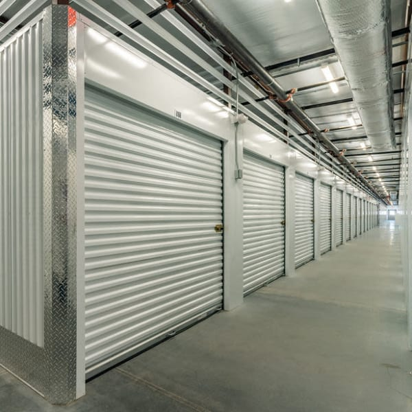 Indoor climate-controlled storage units at StorQuest Express - Self Service Storage in Palm Coast, Florida