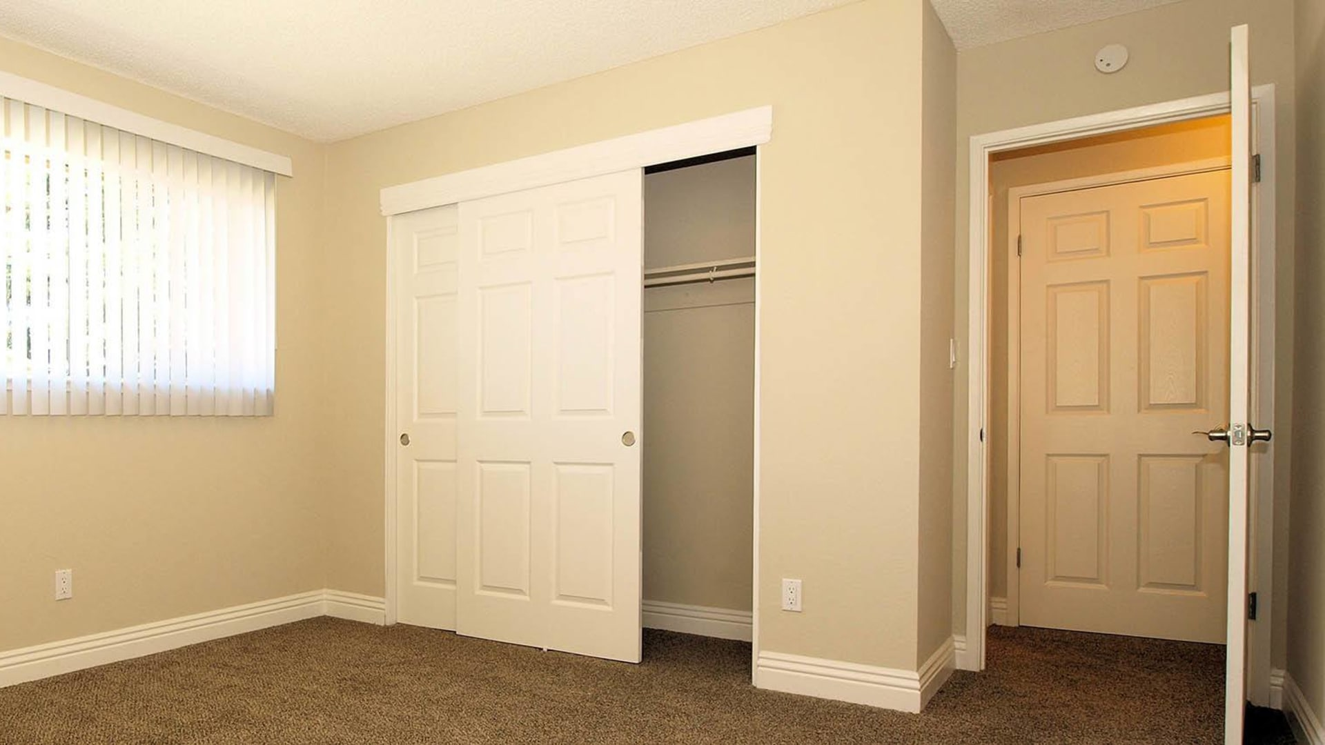 Bedroom at Spring Lake Apartment Homes in Santa Rosa, California