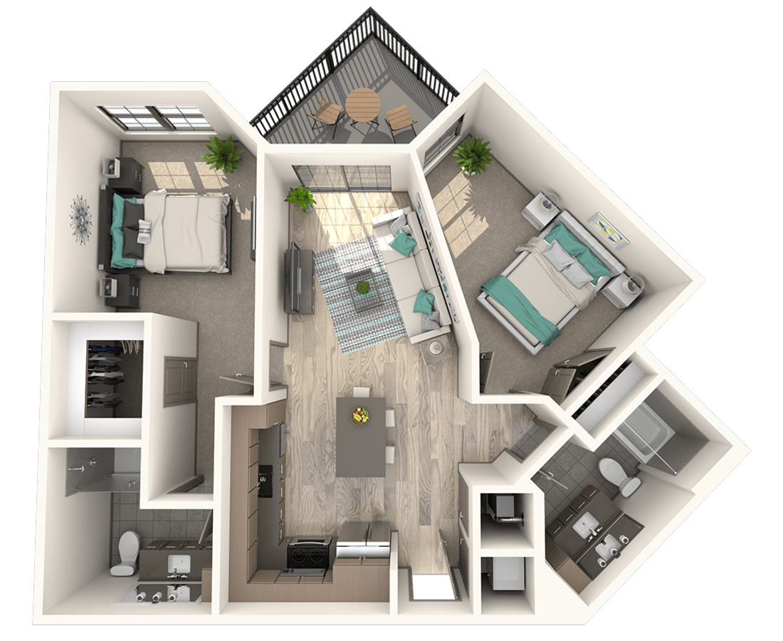 Deco Floor Plan