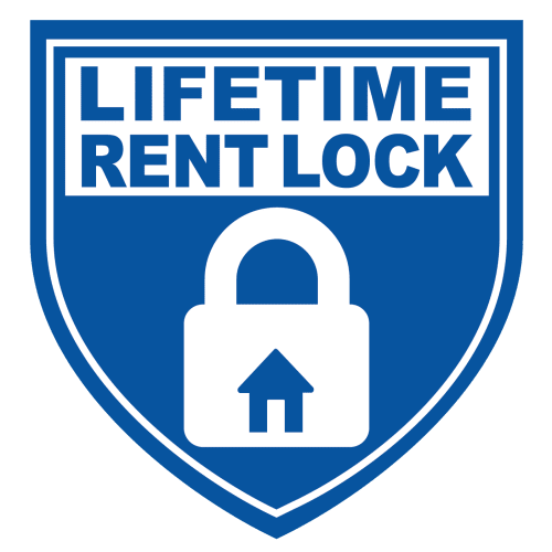 Lifetime rent protection plan at Discovery Commons