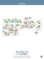 Site map of Harlo Apartments in Warren, Michigan