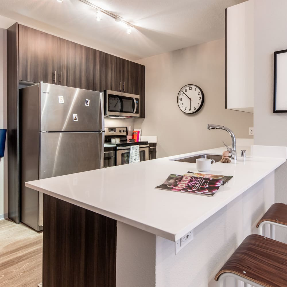 View our floor plans at evolve on Main in Pullman, Washington