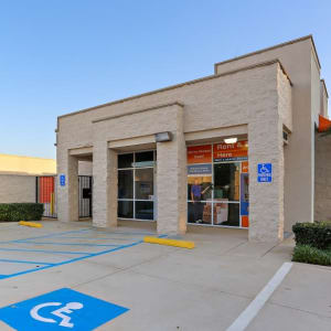 The front entrance to A-1 Self Storage in Huntington Beach, California