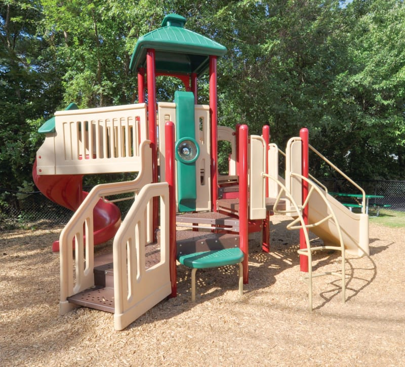 Playground at Middlesex Crossing in Billerica, Massachusetts