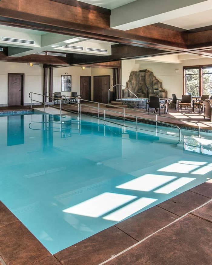 Indoor Swimming Pool at The Springs at Carman Oaks in Lake Oswego, Oregon