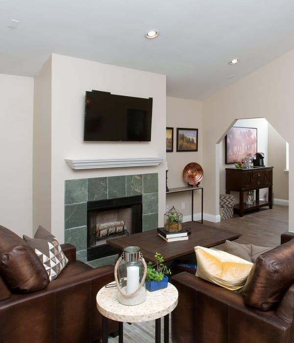 Living room at Heather Ridge in Orangevale, California