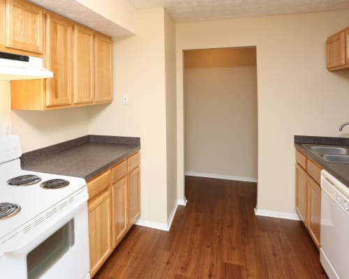 Our apartments in Lexington, Kentucky showcase a spacious kitchen