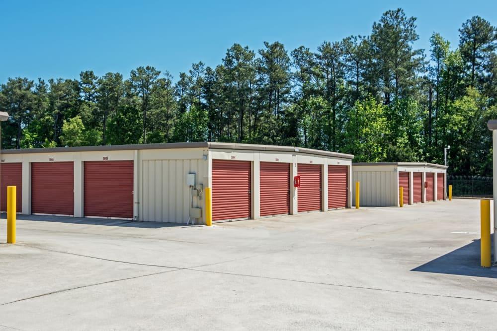Outdoor units at Metro Self Storage in Stone Mountain, Georgia