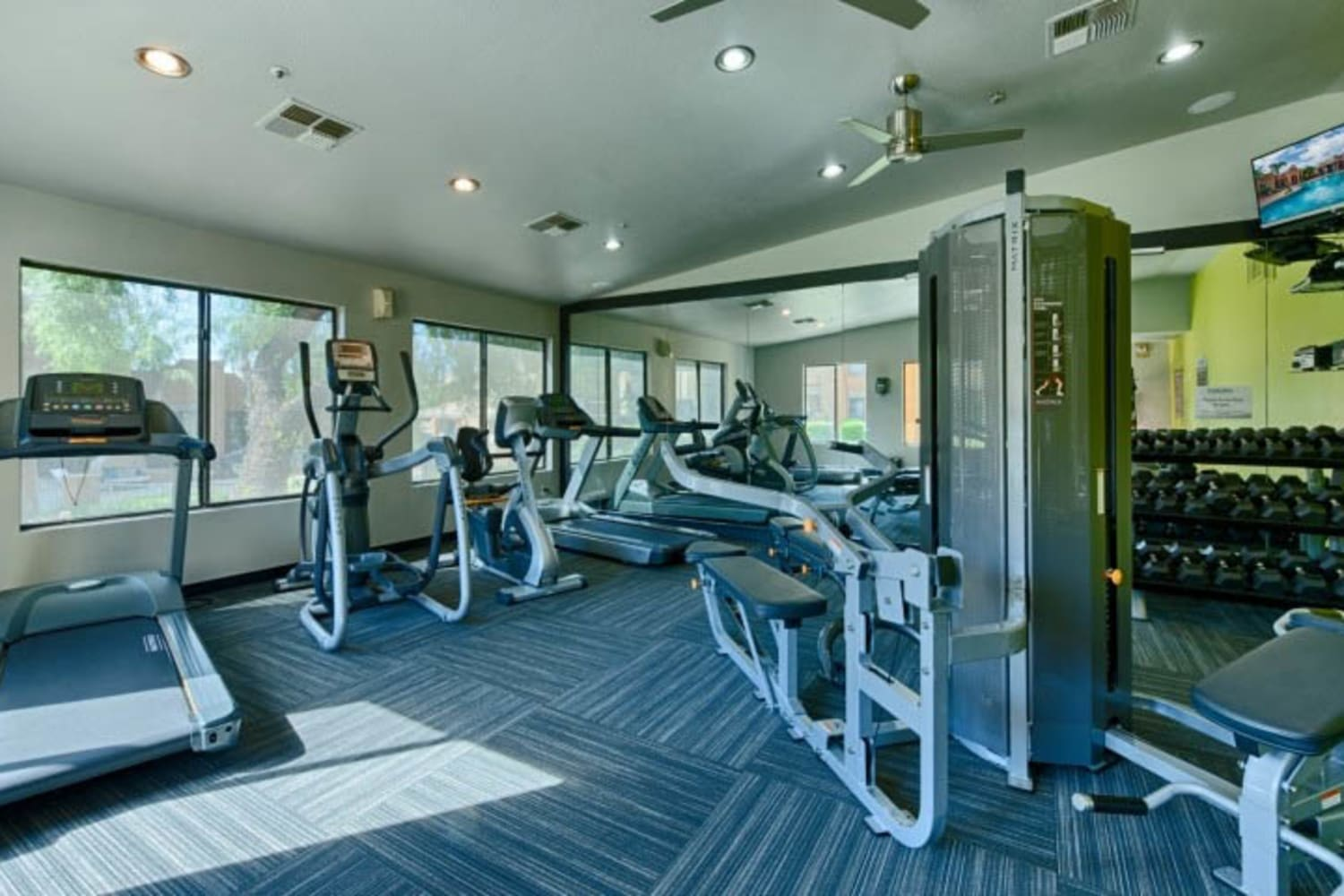 Gym at Cabrillo Apartments in Scottsdale, Arizona