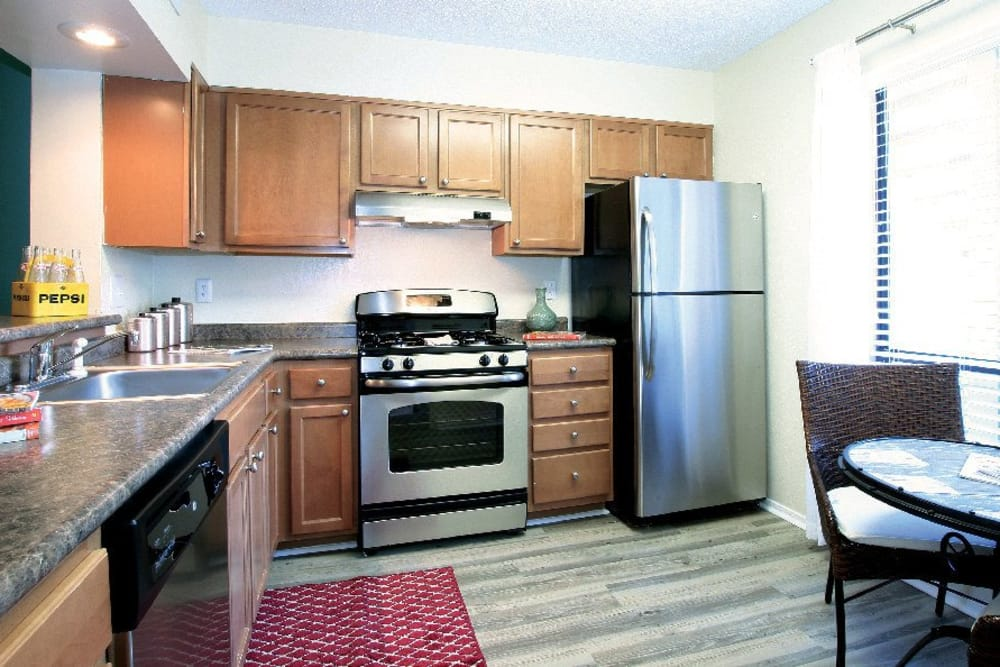 Enjoy the counter space in the kitchens The Marquis Perimeter Center in Atlanta, The Marquis Perimeter Center