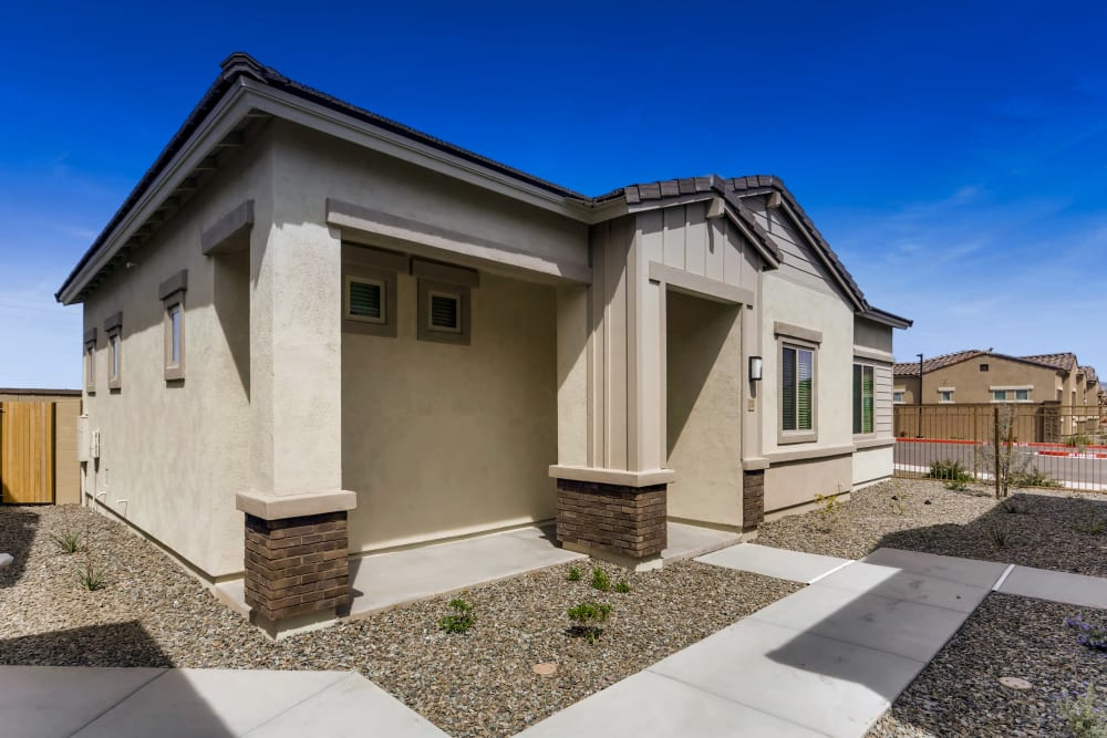 Model home at Avilla Lehi Crossing