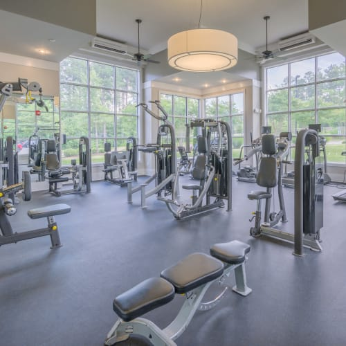 View virtual tour of our fitness center at Sterling Town Center in Raleigh, North Carolina