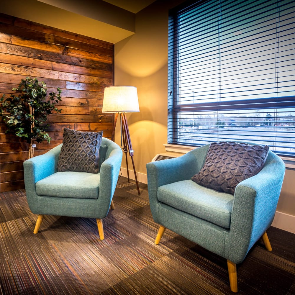 Enjoy a state-of-the-art clubhouse at South Block Apartments in Salem, Oregon