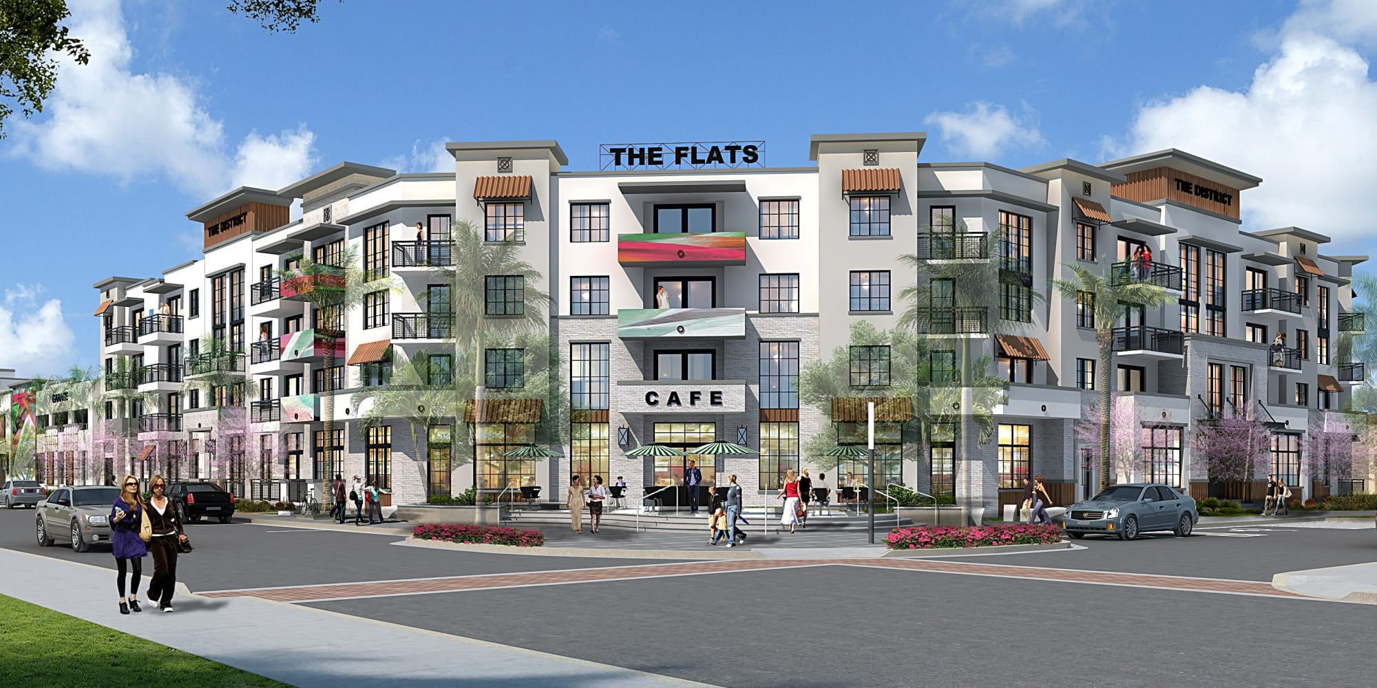 Apartments in West Palm Beach, Florida at The District Flats