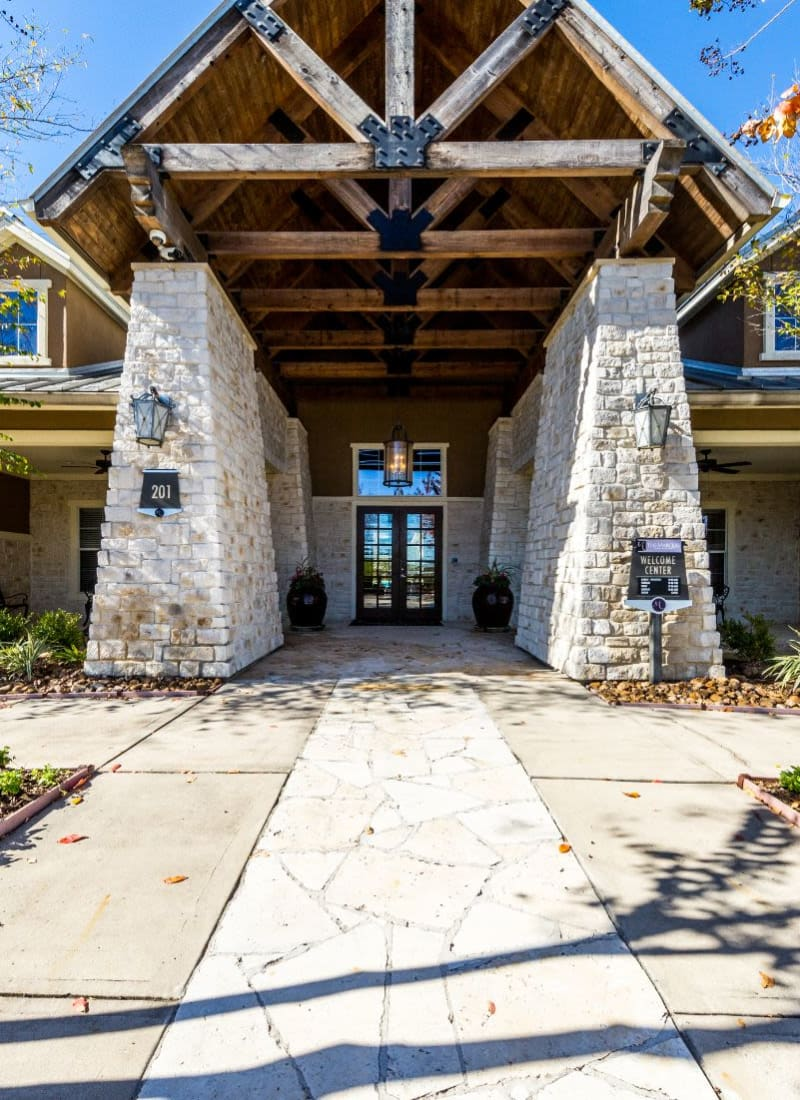 Exterior of Marquis at The Woodlands in Spring, Texas