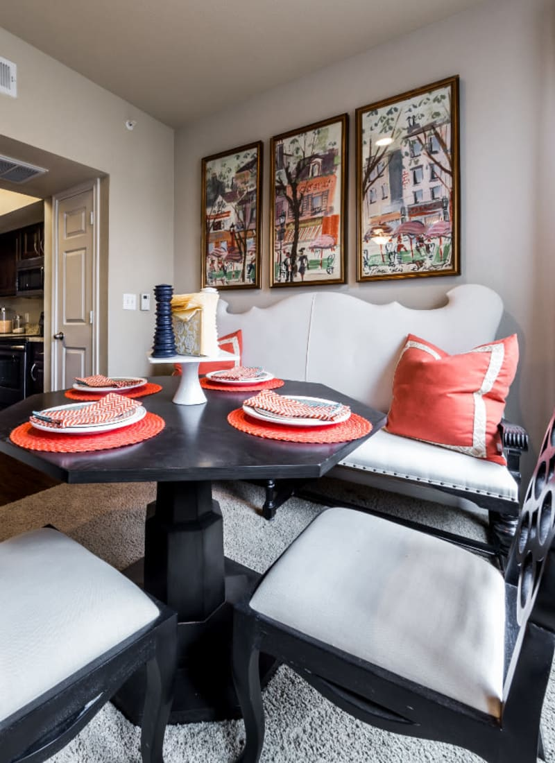 View our floor plans at Marquis at Stonegate in Fort Worth, Texas