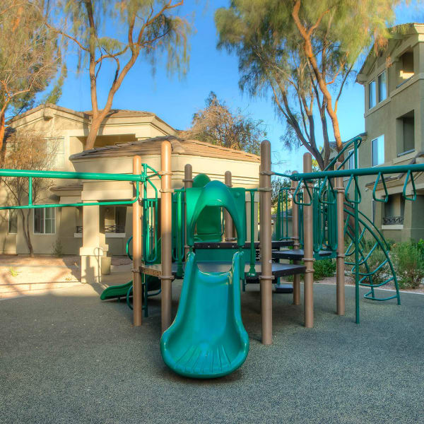 Onsite playground at The Reserve at Gilbert Towne Centre in Gilbert, Arizona