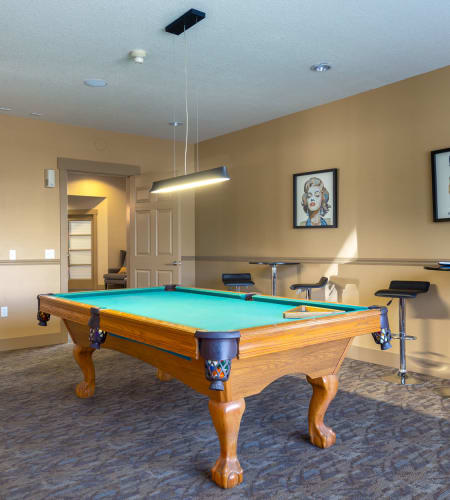 Superb fitness center at The Landings at Morrison Apartments in Gresham