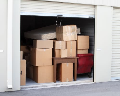 View the variety of storage units offered at A Storage Solution of Destin in Destin, Florida