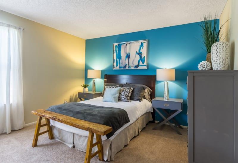 Fabulous master bedroom at Britton Woods in Dublin, Ohio