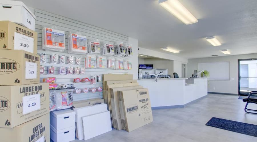 First Rate Storage offers several unit sizes to fit your needs