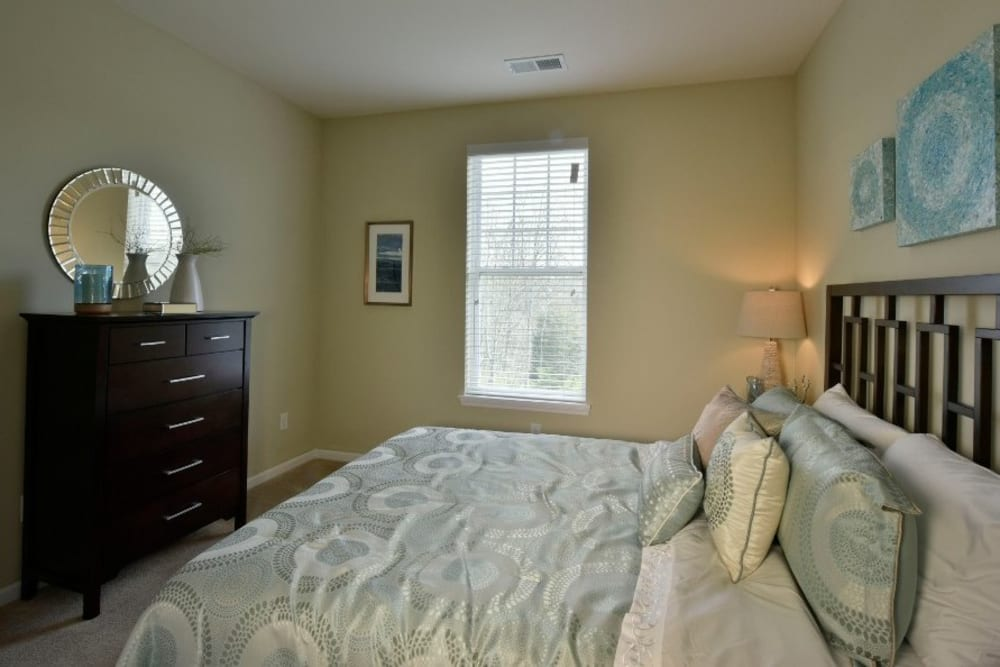 Bedroom at Overlook Apartments
