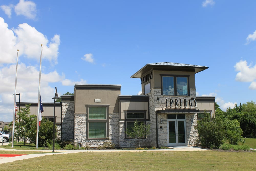 Community Clubhouse at Springs at Round Rock in Round Rock, TX