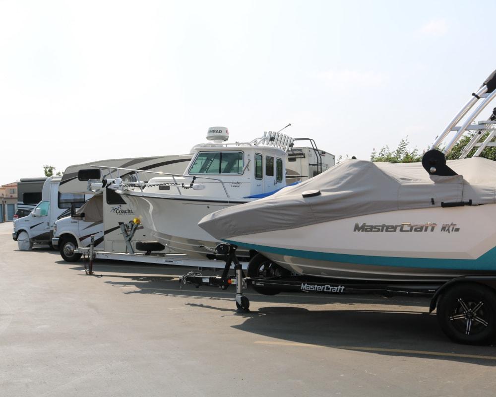 RV & boat parking at Golden State Storage - Camarillo in Camarillo, California