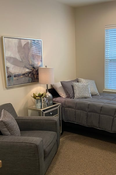 Studio senior apartment at Quail Park Memory Care Residences of West Seattle in Seattle, Washington