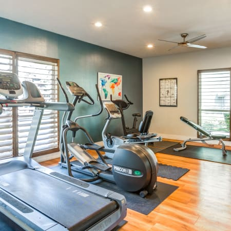 Fitness Center at Royal Ridge Apartments in Midvale