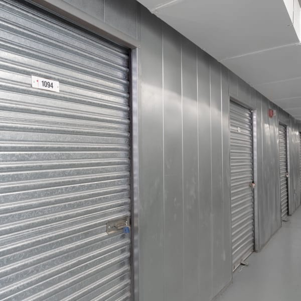 Climate-controlled indoor units at StorQuest Self Storage in Los Angeles, California