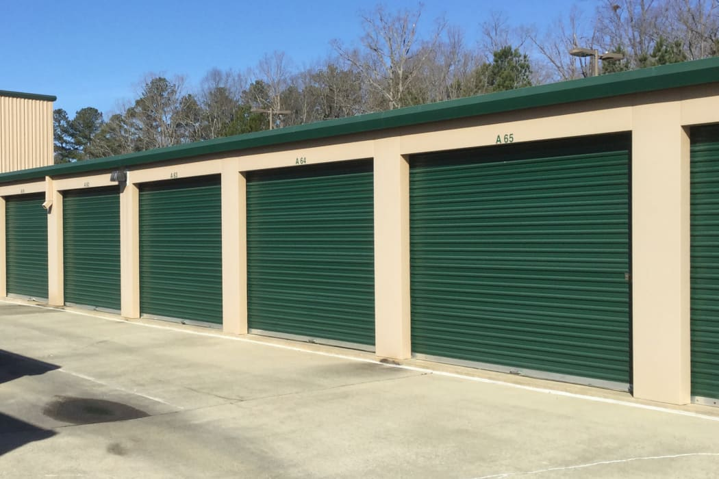 Climate Controlled Exterior Storage Units at our self storage facility in Durham, North Carolina