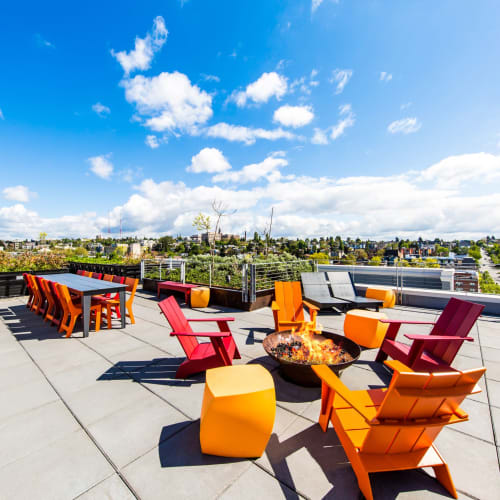 Rooftop lounge at Anthem on 12th in Seattle, Washington