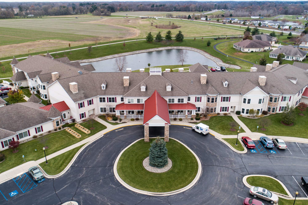 Aerial view at Waterford Crossing