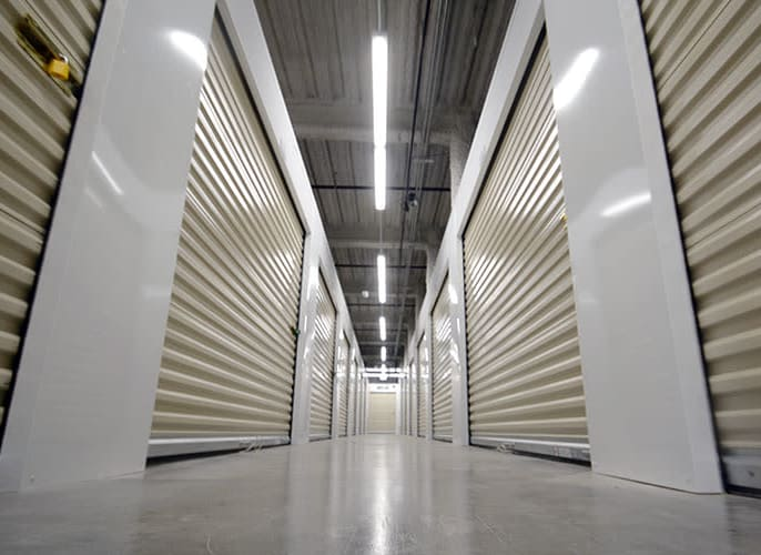 Climate controlled storage units at Edgemark Self Storage - Glendale in Glendale, Colorado