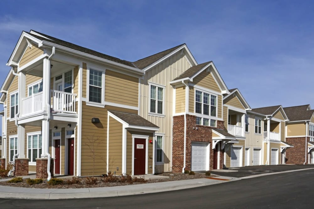 Townhome Apartments atSprings at South Broadway in Rochester, MN