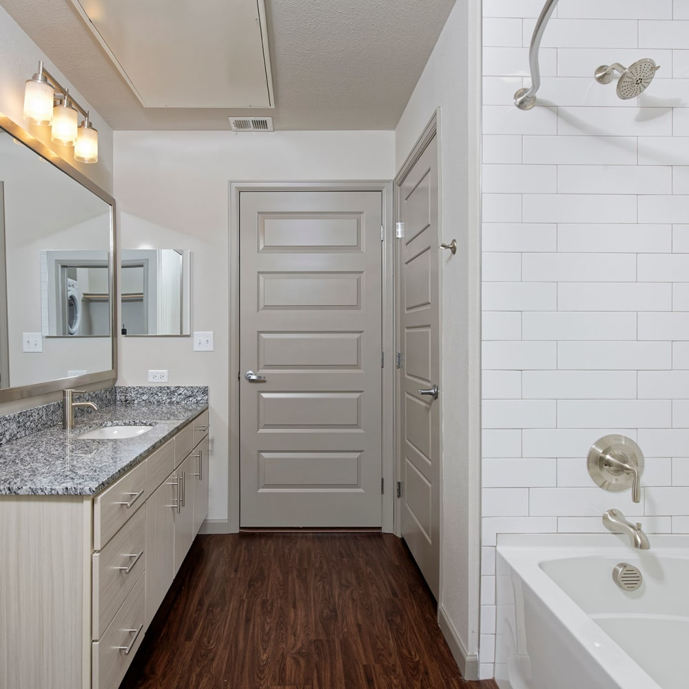 Bathroom at Civic Lofts | Apartments in Downtown Denver, Colorado