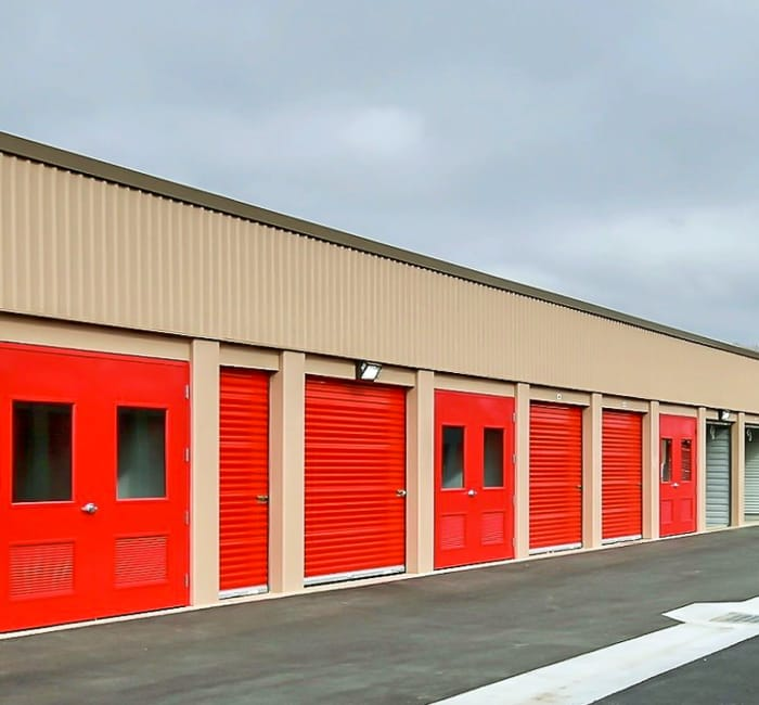 Drive Up Units At Tracy Self Storage