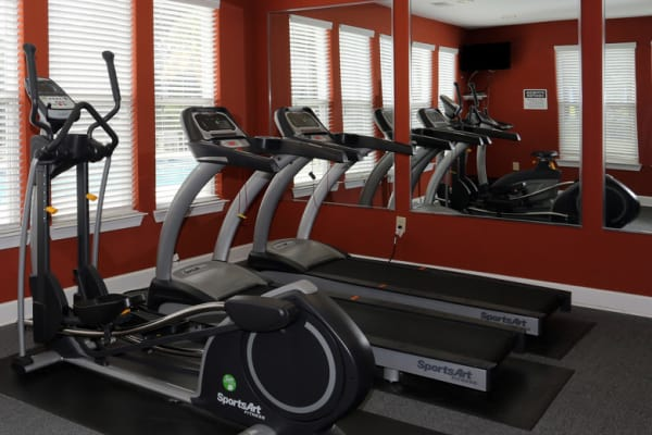 Fitness Center at Woodside in Mobile, Alabama
