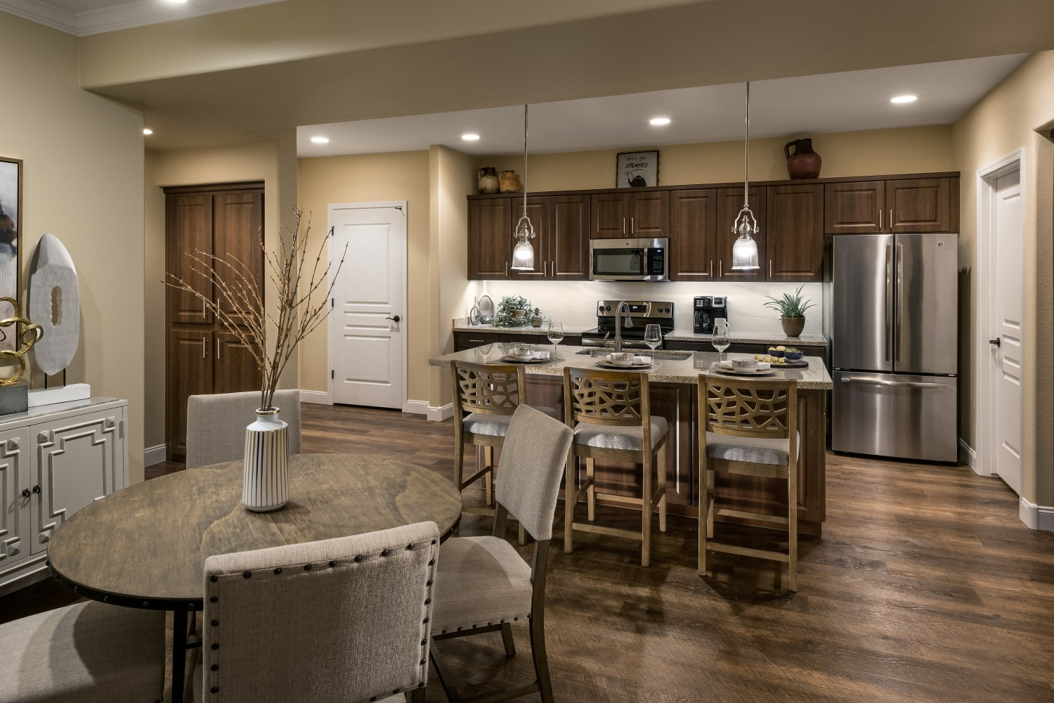 Two Bedroom Kitchen San Valencia in Chandler, Arizona