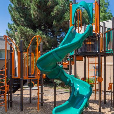 Children's playground at Waterstone Fremont in Fremont, California