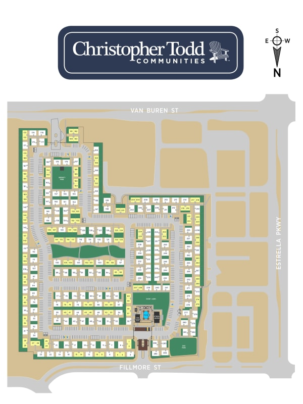 Christopher Todd Communities At Estrella Commons site plan