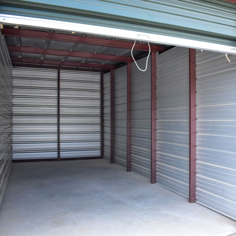 A large storage unit at STOR-N-LOCK Self Storage in Gypsum, Colorado