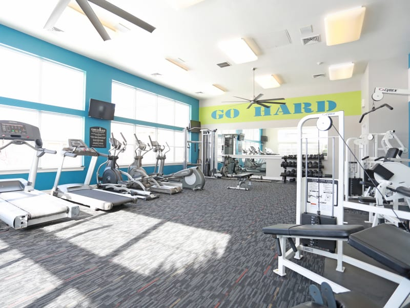 Fitness Center at Apartments in Lakewood, Colorado