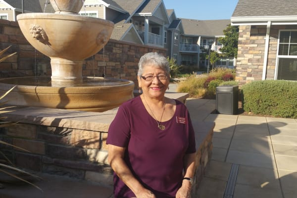 Lydia L. Perez at Camellia Gardens Gracious Retirement Living in Maynard, Massachusetts