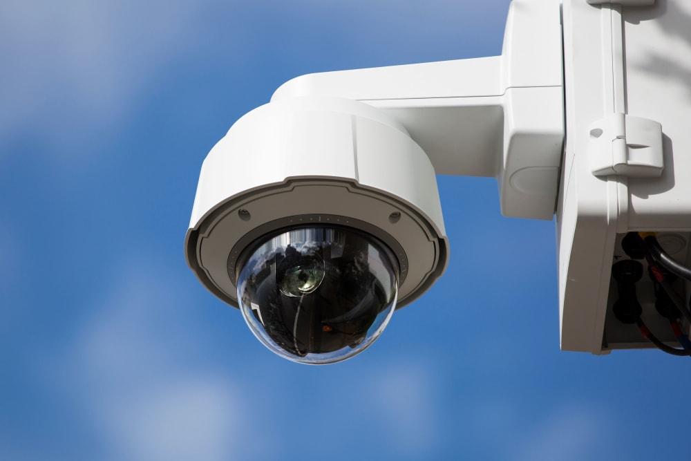 Security cameras at Storage Etc... De Soto in Chatsworth, California