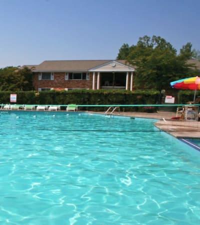 Poolside at Henrietta Highlands in Henrietta, New York