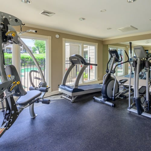 View virtual tour of the fitness center at The Hamilton in Hendersonville, Tennessee